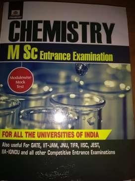 Chemistry-MSc entrance examination