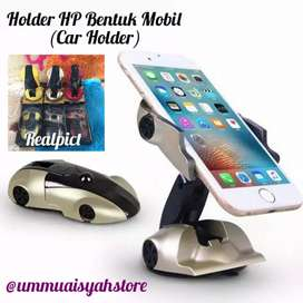 Holder HP Bentuk Mobil / Pegangan Hp/ Car Holder