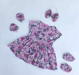 Set baju bayi newborn second
