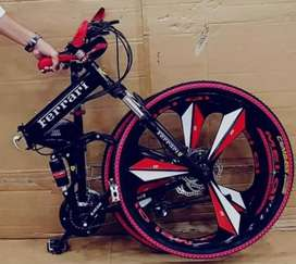 New 21 Gear Foldable Bicycles In All Colours