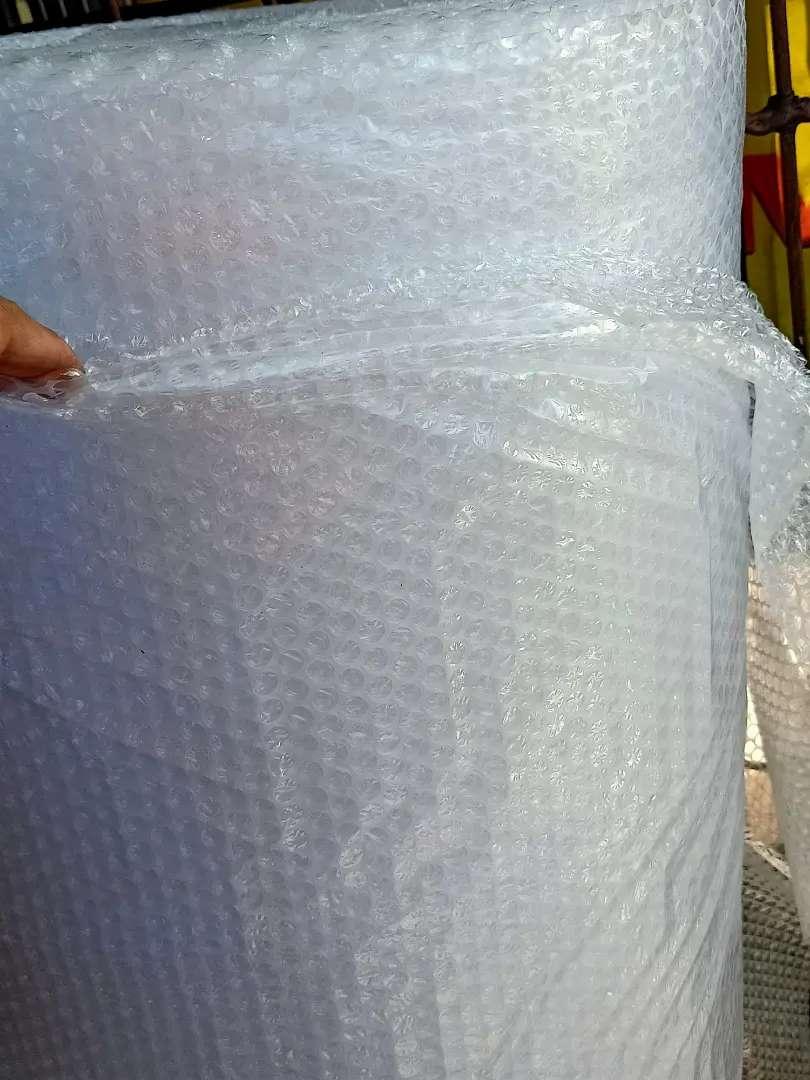 Plastik bubble wrap Putih