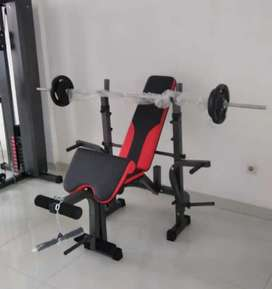 Alat fitness/TL 7705 bench press free beban