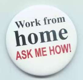 Data entry work at home base typing genuine