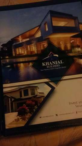 commercial plot available in khanial homes