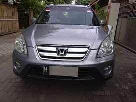 Dijual Mobil Honda CRV 2.0 A/T 2005 Silver