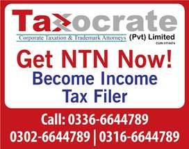 Become Income Tax Filer after getting NTN.