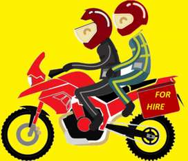Wanted bike taxi/food delivery boys for Dunzo in Hyderabad