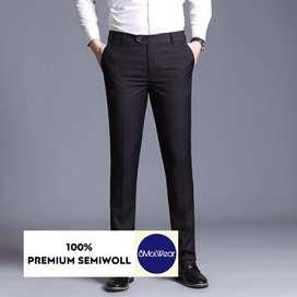 Celana pria celana bahan celana kantor celana kerja celana woll