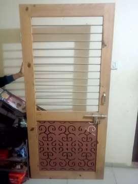 Wooden Fancy Design unused Door
