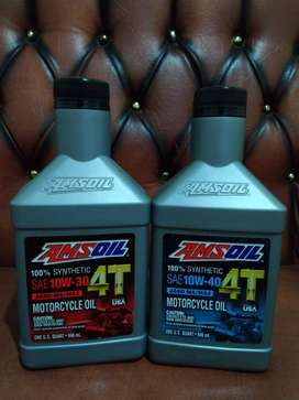 AMSOIL 100% Synthetic 4T Performance Motorcycle Oil
