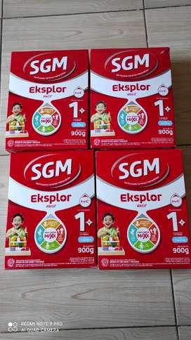 Sale susu pribadi SGM 1 plus vanila