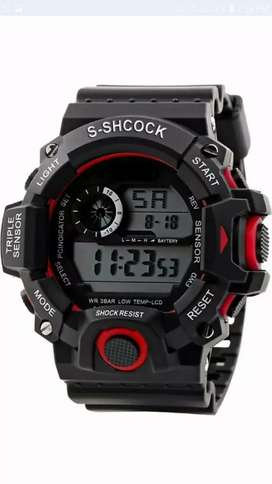 Sports alarms watch for men