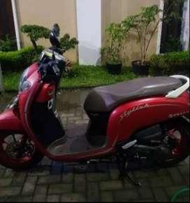 Jual Honda Scoopy Stylish RED  cash/Kredit(UM mulai 2 JT an)