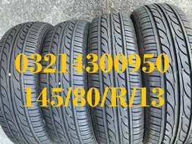 4Tyres 145/80/R/13 Dunlop Enasave Just Like Brand New Condition