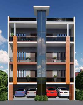 3BHK Flat with Lift and Still Covered Car Parking @ Just Rs 37.99 Lac