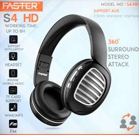 FASTER S4 HD Solo Wireless Stereo Headphones-09961