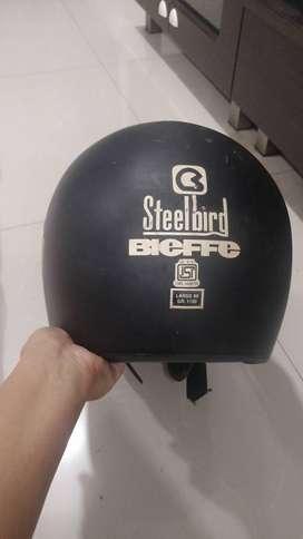 steelbird bieffe ISI mark helmet