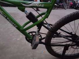 Shocker wali cycle with disc brake