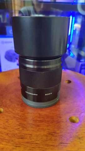 lensa mirorrles sony 50mm f1.8 oss