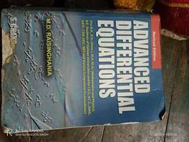 Advanced differential equations by M.D. Raisinghania