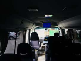 Toyota Coaster Saloon Flying Coach Mini Bus Hiroof Hiace Grand Cabin