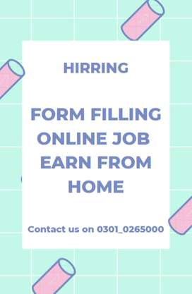 Feasible online form filling jobs for students to earn income