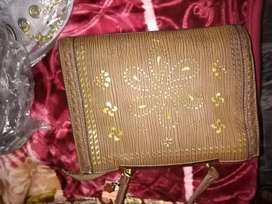 Imported ladies hand bags available
