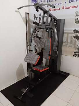 HOM gym 1 sisi beban 75 kg multy gym