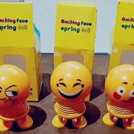 Smiley spring doll @90rs (1qty)