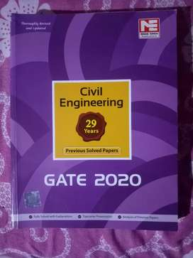 GATE 2020 Civil Engineering