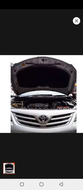 Corolla 2009~2014 bonnet & trunk insulator for heat and sound proof.