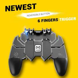 6 Finger Game Trigger remote for mobile / Pubg