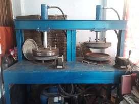 Paper plate machine in a lesser amount
