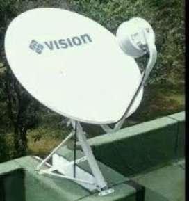 Daftar di sini indovision Mnc Vision Family Pack digital tahan hujan