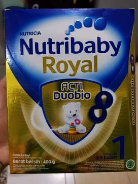 Nutribaby royal tahap 1 bayi 0-6 bulan nutricia acti duobio susu