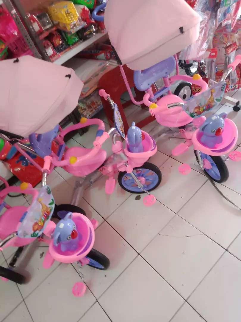 Sepeda roda tiga tricycle PMB tipe 720 0