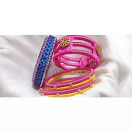 Combo offer thread bangles