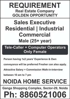 Tele Caller + Computer Operators  We Deal with only corporates company