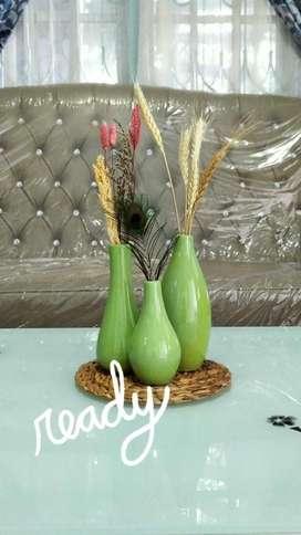 Vas Keramik, Kaca dan Pot Tawon, Pirus