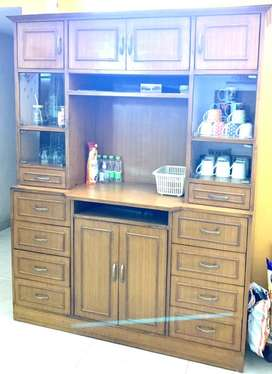 Polished Crockery Cabinet