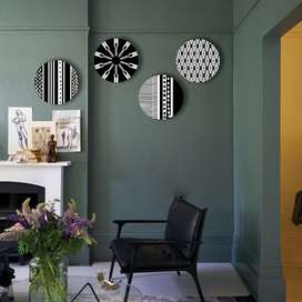 Personalized Wall Plates Geometric Art Collection (Set Of 4)