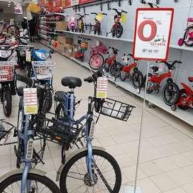 Sepeda listrik selis bisa kredit bunga 0%