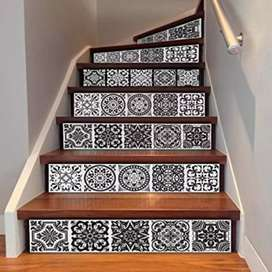 Stairs front Design for house appartment bed room tv lounge