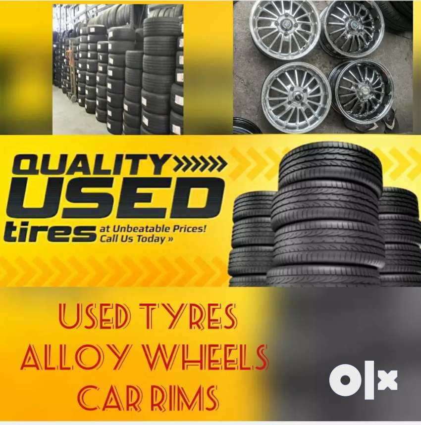 High quality second Hand used car tyre 0