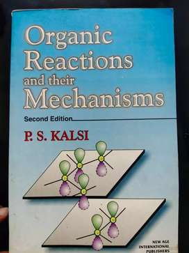 ORGANIC REACTIONS AND THEIR MECHANISMS (SECOND EDITION)