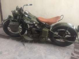 (OFFICIAL PRICE 30 Lakh. NOT 20 Lakh) Harley Davidson 1938 WLA42