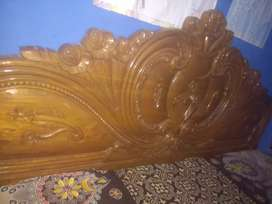 Bed wooden