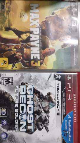 Max Payne 3 + Ghost recon