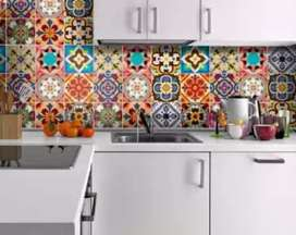 Wall Tile Stickers 12 pieces