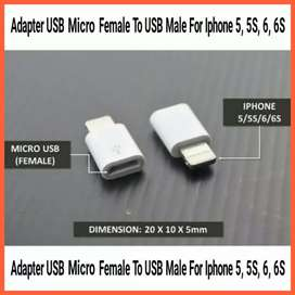 Adapter USB Micro Female To USB Male For Iphone 5 5S 6 6S